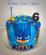 Cat Boy Cake (PJ Masks)